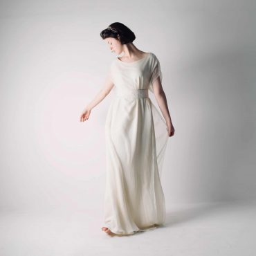 hedera Celtic Tunic Wedding Dress