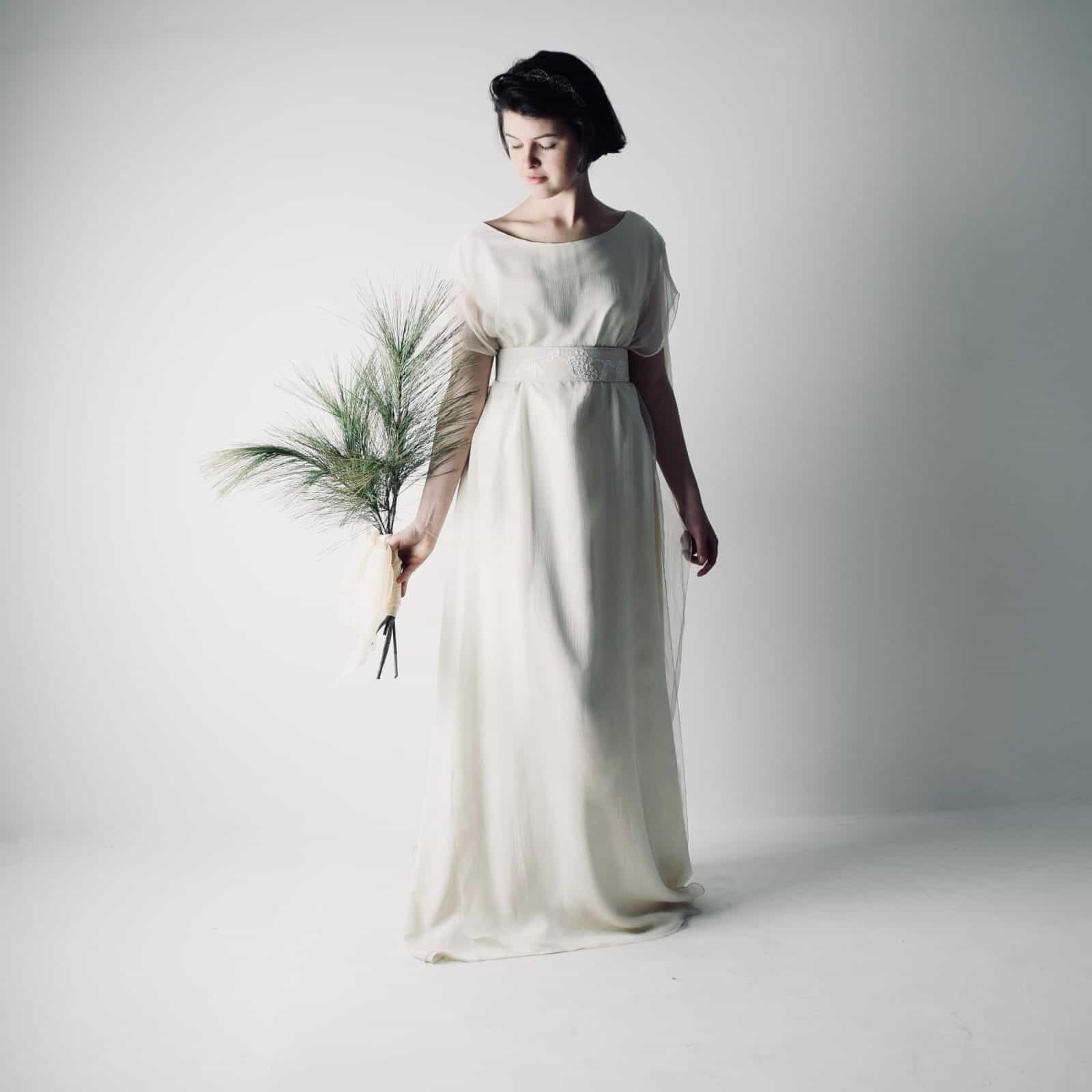 hedera Celtic Tunic Wedding Dress