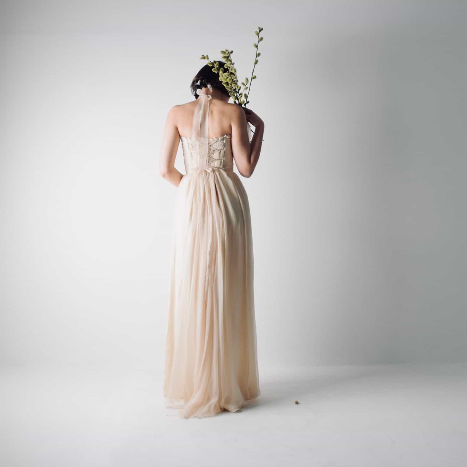 Bardane ~ Long Bohemian Wedding Dress