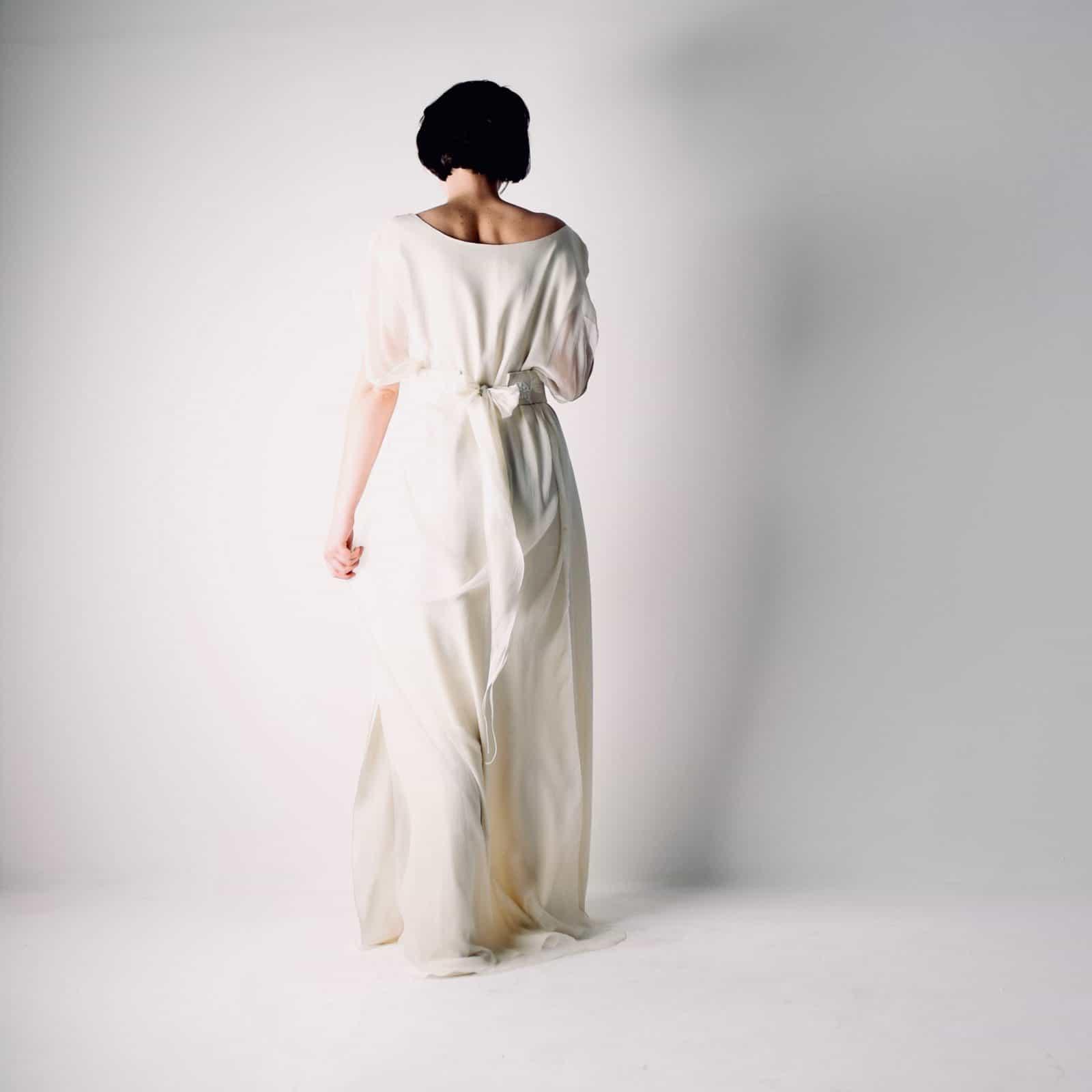 Hedera ~ Celtic Tunic Wedding Dress