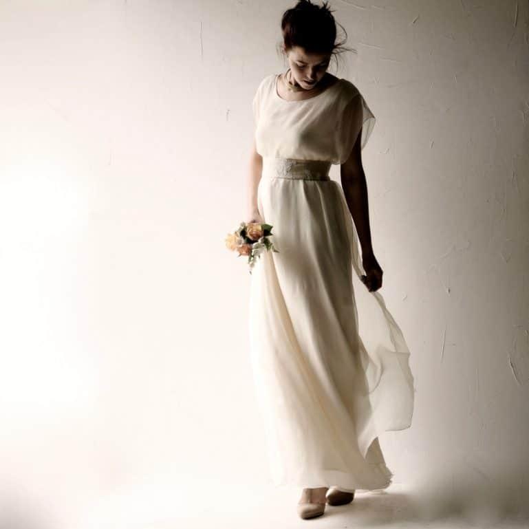 Celtic Tunic Wedding Dress