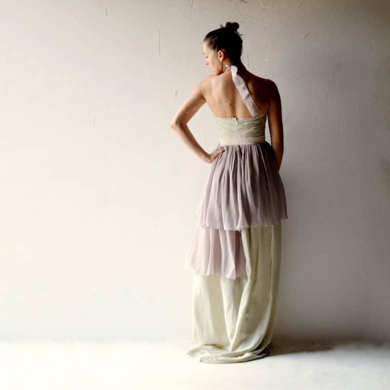 Salvia ~ Romantic Fairy Wedding Dress