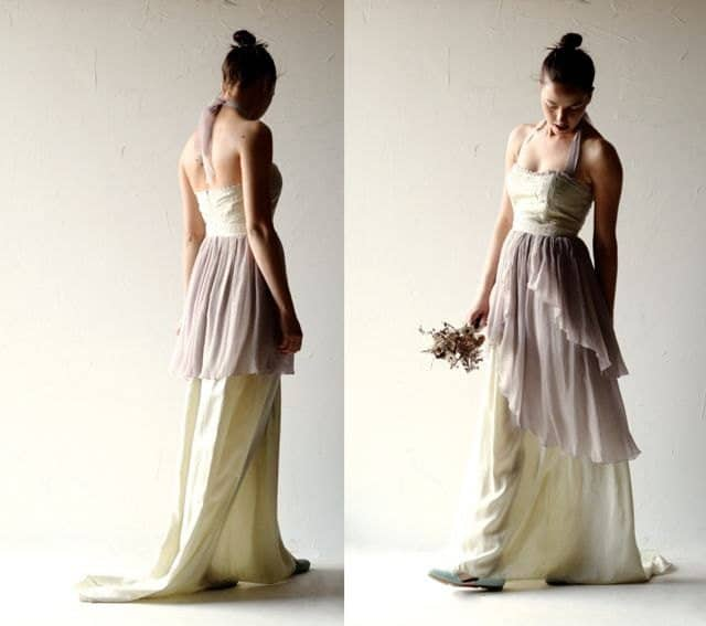 Salvia ~ Romantic Fairy Wedding Dress