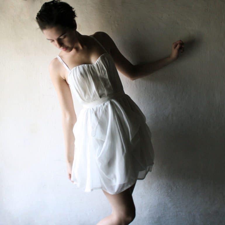 Hyacinth ~ Short Wedding Dress
