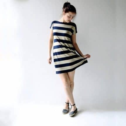 Stripy Tunic Dress