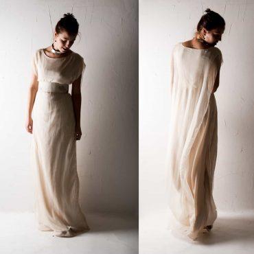 Hedera ~ Pagan Wedding Dress