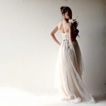 Helleborus ~ Blush Wedding Dress
