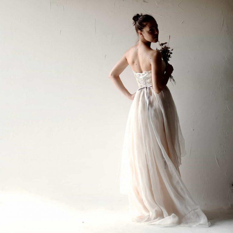 Helleborus ~ Blush Wedding Dress