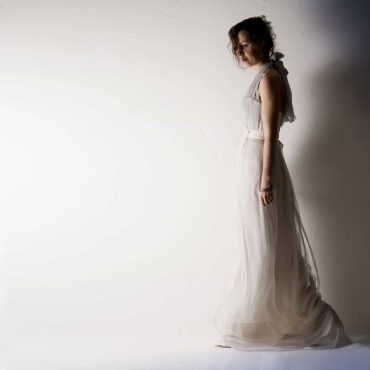 Centaurea ~ Two piece Wedding dress