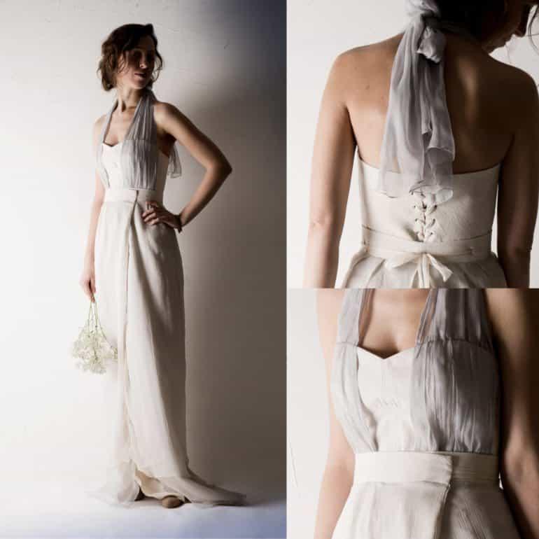 Centaurea ~ Two piece Wedding dress