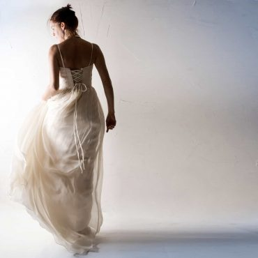 Lonicera ~ Textured Wedding dress