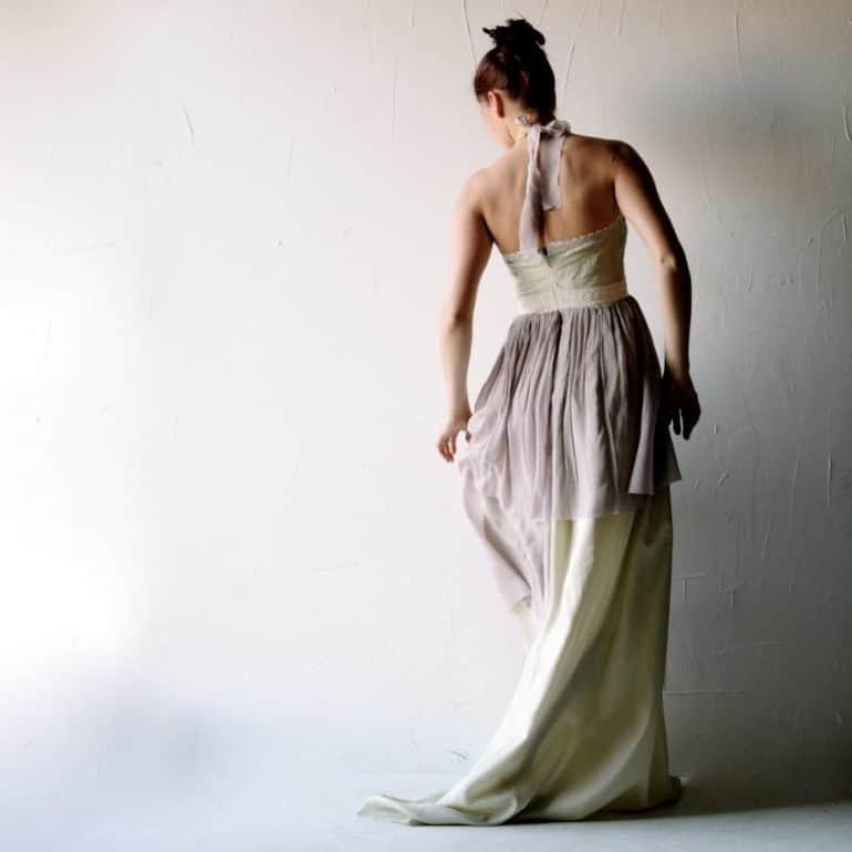 Romantic Fairy Wedding Dress