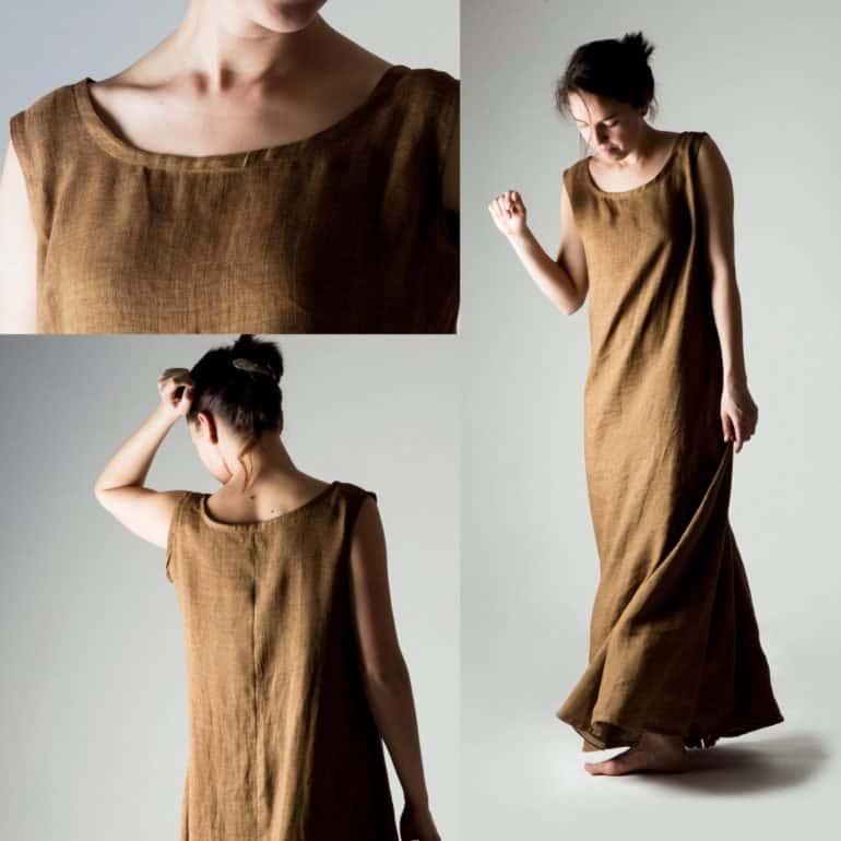 Long Linen Tunic