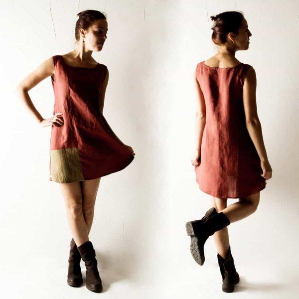 Short Linen Tunic