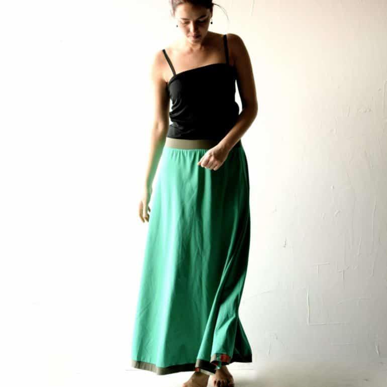 Long Cotton Skirt