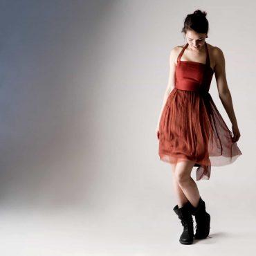 Short Red Corset Dress