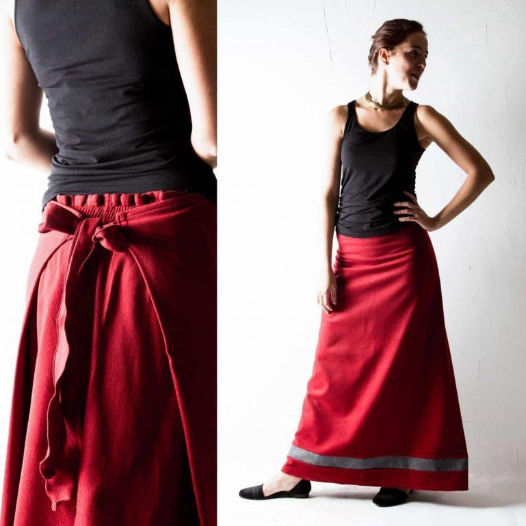 Wool Winter Skirt