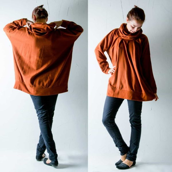 Pumpkin Wool Sweater