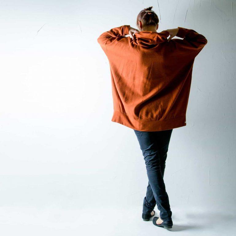 Pumpkin Wool Sweater