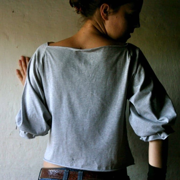 Boxy Cotton Blouse