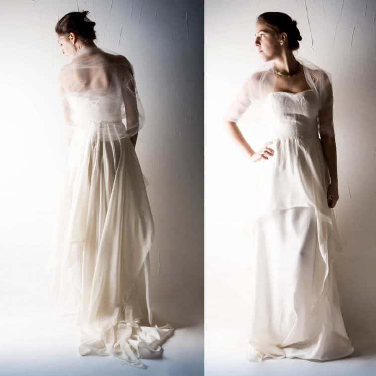 Tulle Bridal Wrap