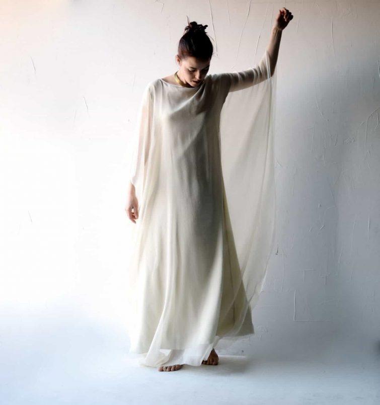 Lunaria ~ Goddess Wedding Dress