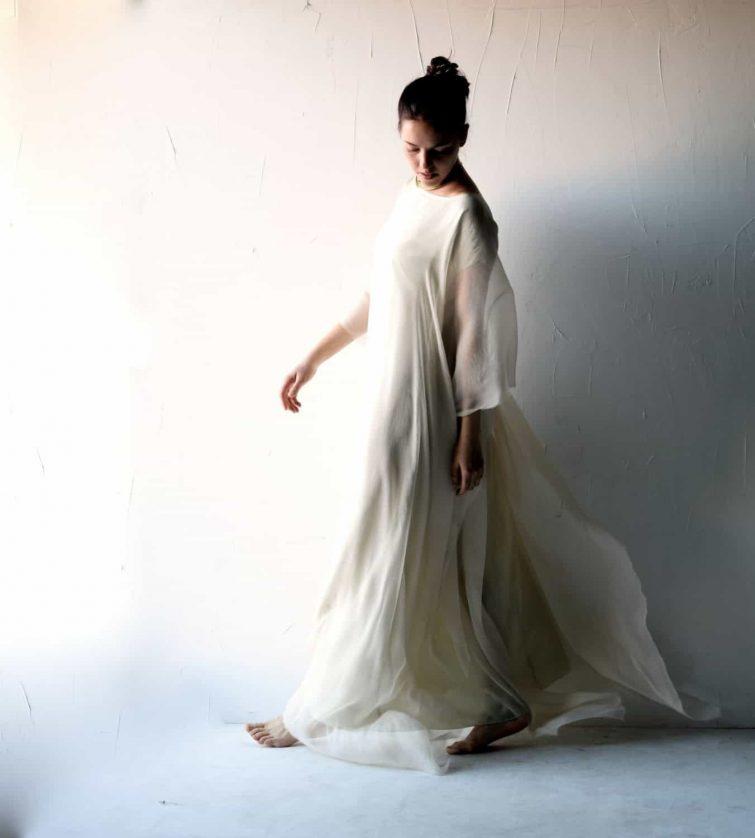 Goddess Wedding Dress Larimeloom Handmade Clothing