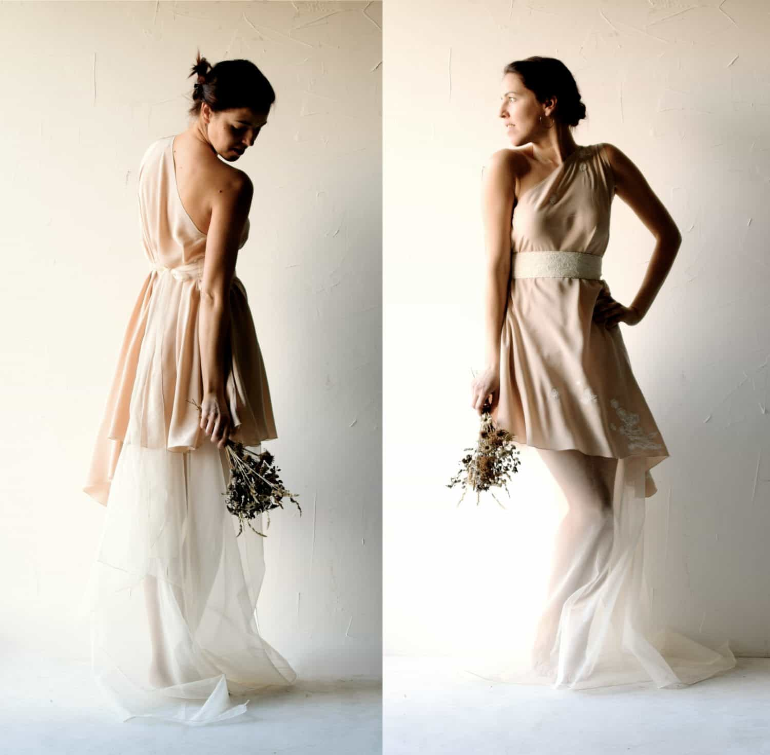 94 Blush Wedding Dress Blush Pink Wedding Gown By Watters Stellayork 6432 03 530x845