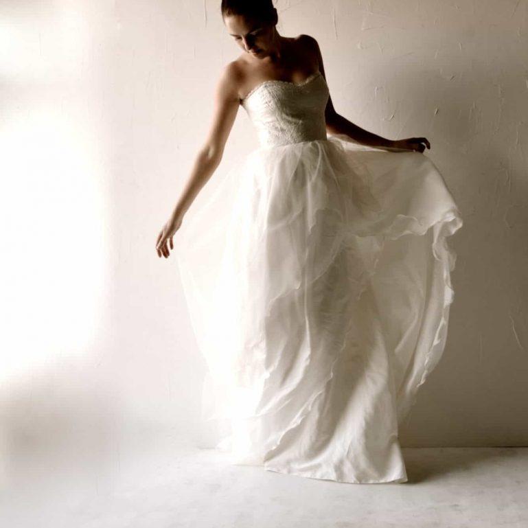 Paeonia ~ Ballgown wedding dress