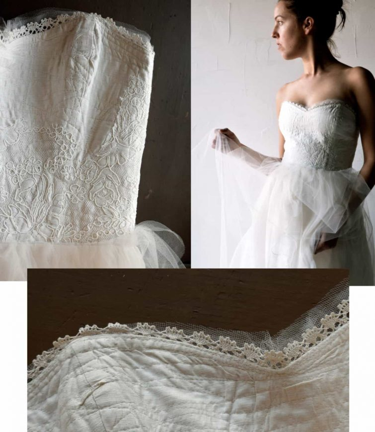 Paeonia ~ Ballgown wedding dress