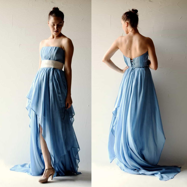 Romantic Wedding Dresses: Larimeloom Handmade Clothing