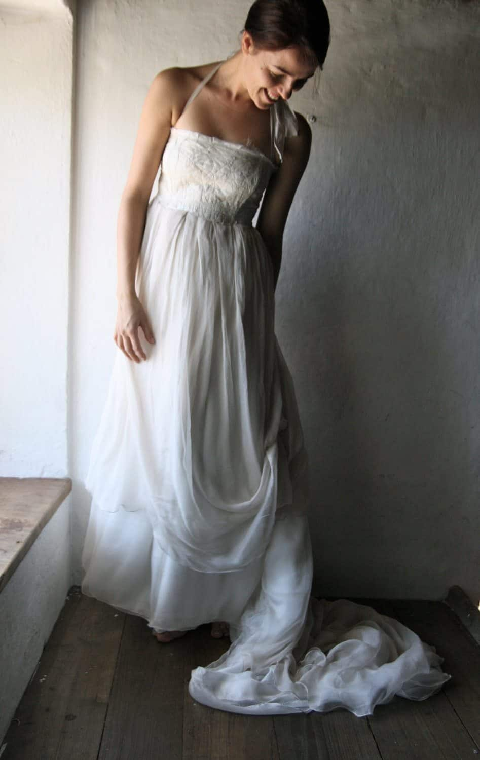 wedding dress alternatives white wedding dress larimeloom italian handmade clothing 9192