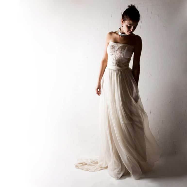 Crocus ~ Alternative Wedding Dress