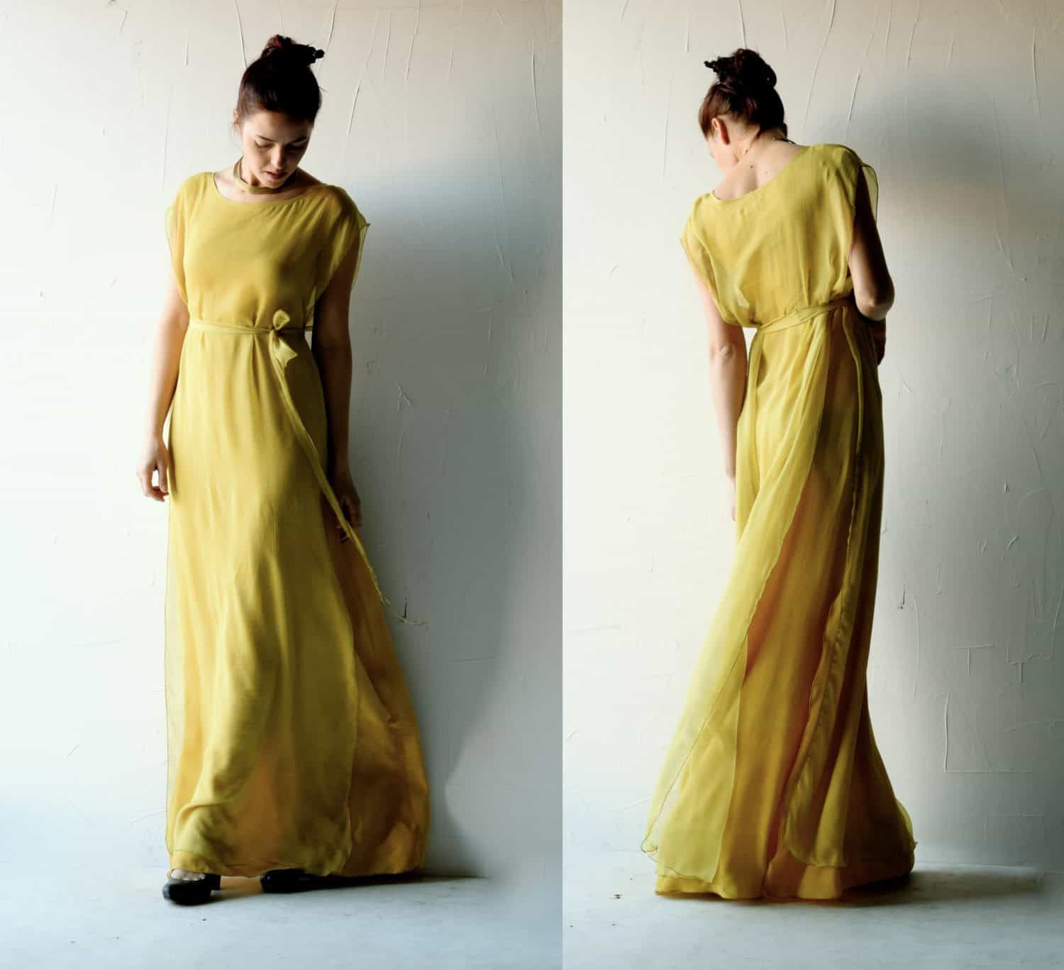 Allium ~ yellow Wedding Dress