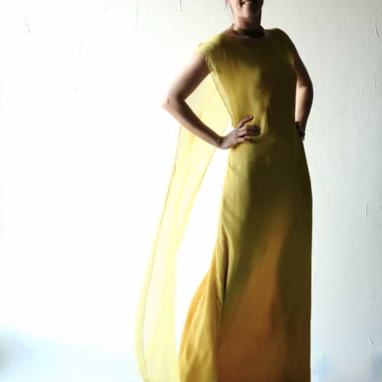 Allium ~ Golden Wedding Dress