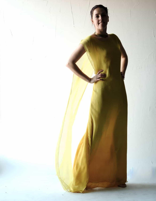 Allium ~ yellow Wedding Dress