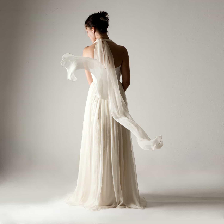 Wedding Dress Boho Wedding Dress Infinity Wedding Dress: Infinity Wedding Dress - Larimeloom