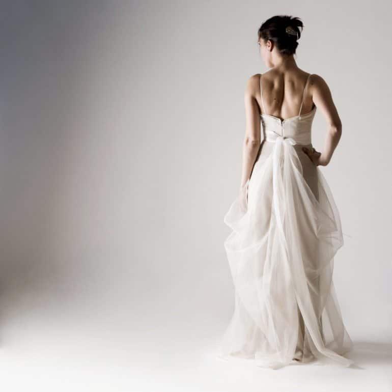 Potentilla ~ Silk Wedding Dress