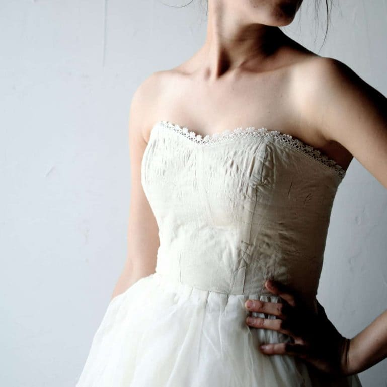 Lilium ~ Tulle Wedding Dress
