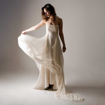 Acanthus ~ Custom wedding dress