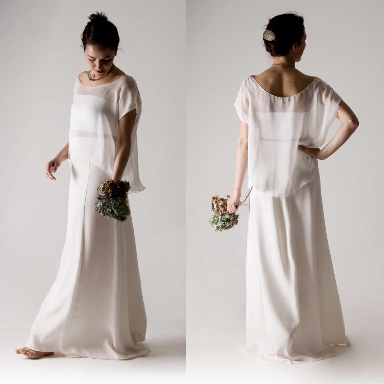 Magnolia wedding dress separates larimeloom handmade clothing magnolia wedding dress separates ombrellifo Choice Image