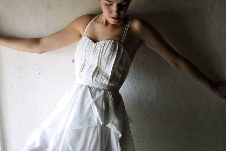 Hyacinth ~ Short Wedding Dress - Larimeloom Weddind Dress