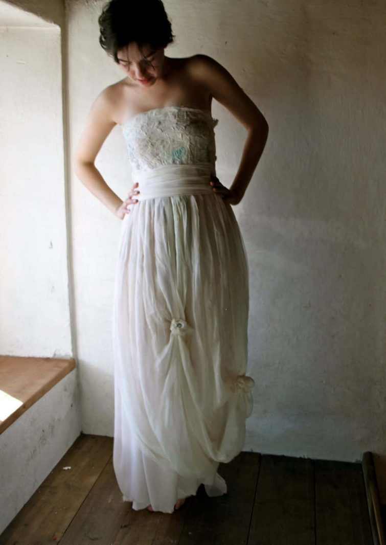 Silk Wedding Scarf or Sash