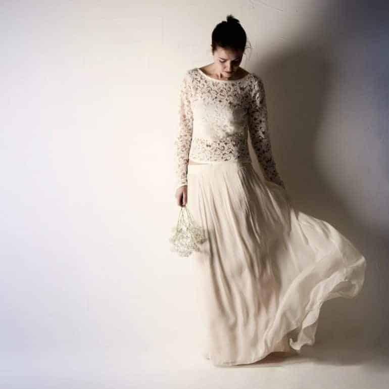 Chiffon Wedding Skirt