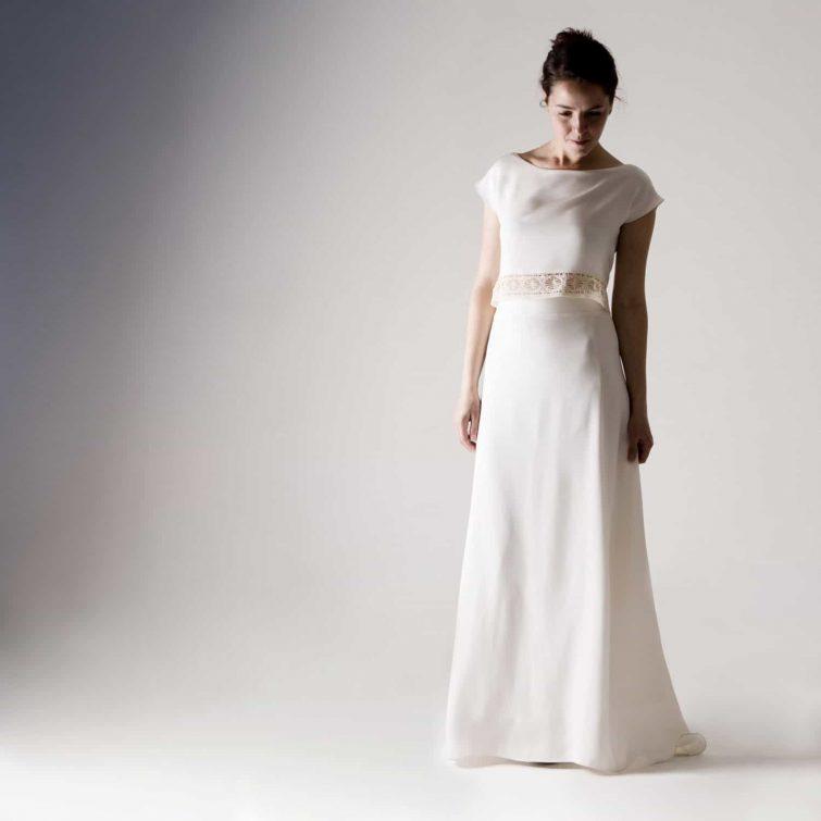Tulipa ~ White Wedding Skirt