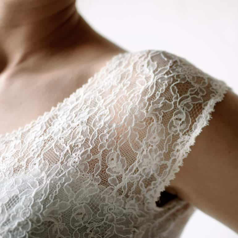 French Lace Wedding Top