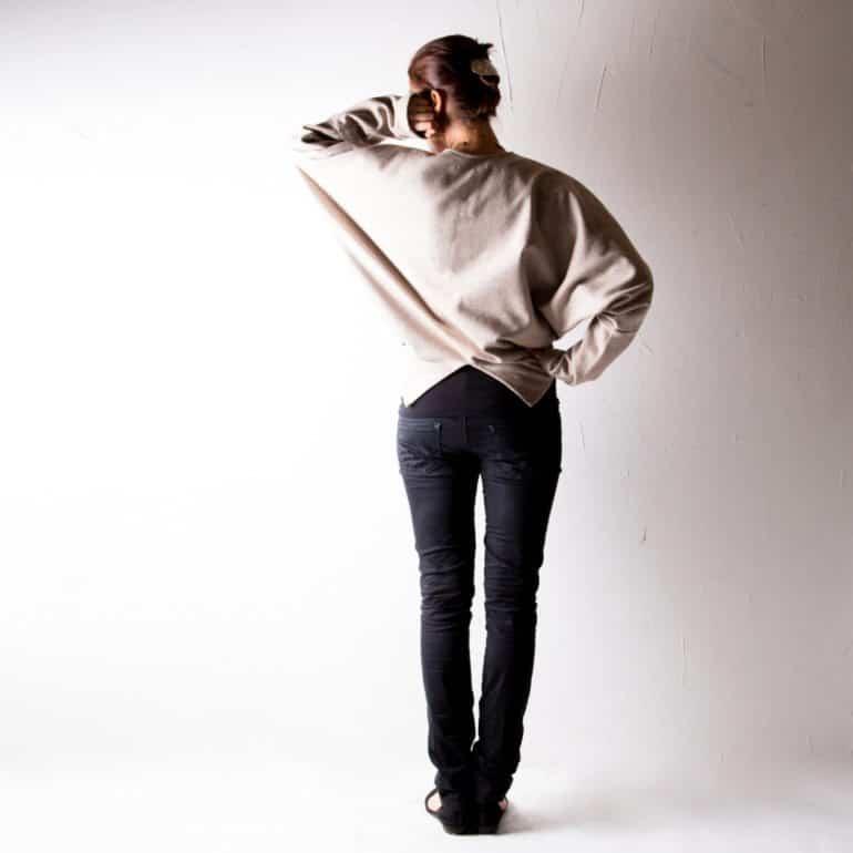 Cropped Ivory Winter Jacket