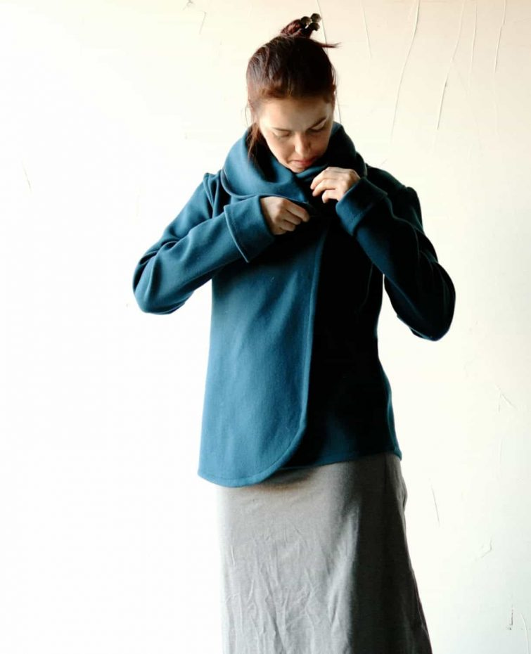 Teal Women's Wool Jacket