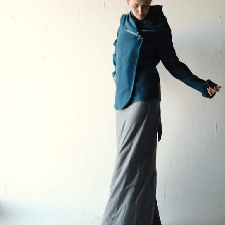 Teal Women's Wool Jacket