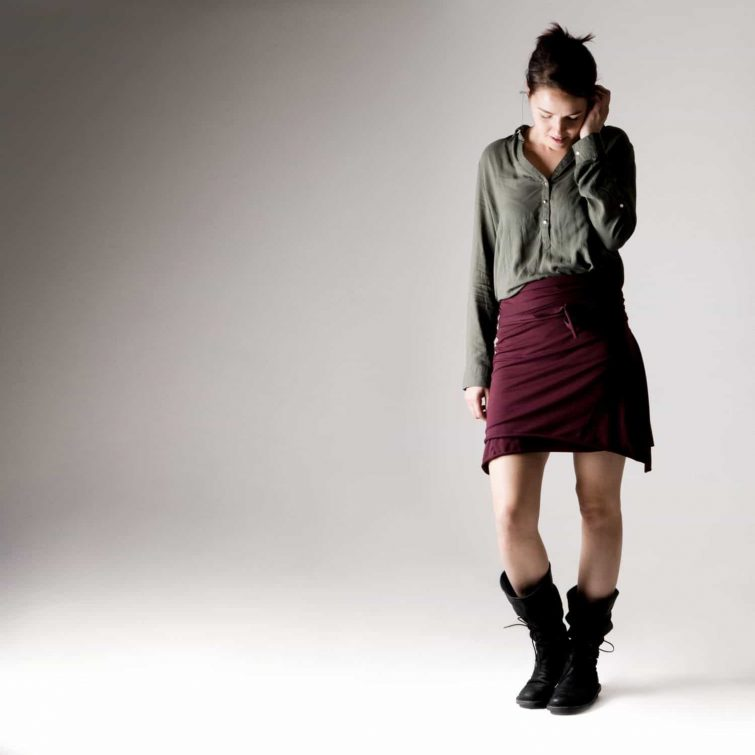 Mini Wrap skirt